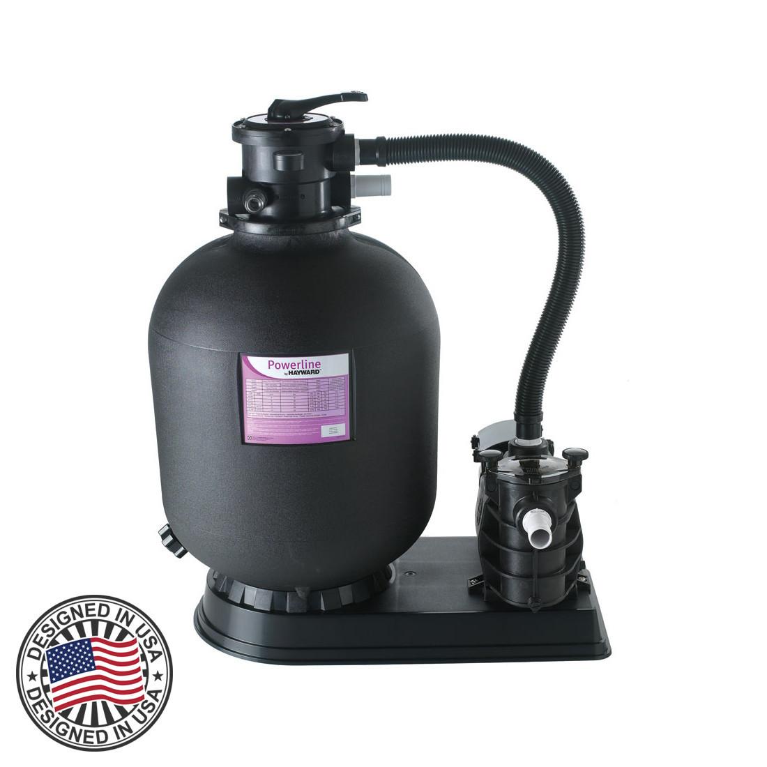 Фильтрующая установка для бассейнов Hayward Powerline 5м3\ч