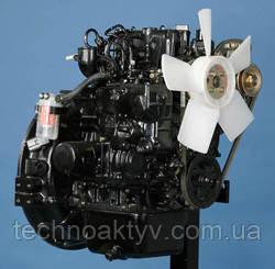 Двигатель MitsubishiL2E - 4-цилиндровый двигатель, с водяным естественным охлаждением.