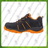 Туфли рабочие кожаные с металлическим носком URGENT 261 S1 (текстиль+натур.нубук), фото 3