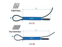 Ключ шкива для газораспределительного механизма KING TONY 9AL12 365мм