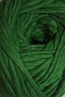 Толстая пряжа ручного прядения Пряжа из натуральной шерсти австралийского мериноса 25 микрон зелень