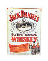 "Обложка на паспорт ""Jack Daniel's"" на белом фоне"