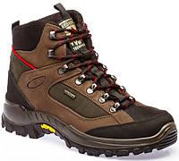 Ботинки треккинговые, термо, гидрофобная кожа, подошва Vibram, мембрана, GriSport, Италия