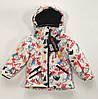 Зимняя лыжная куртка на девочку  Just Play размер 92/98-116/122, фото 4