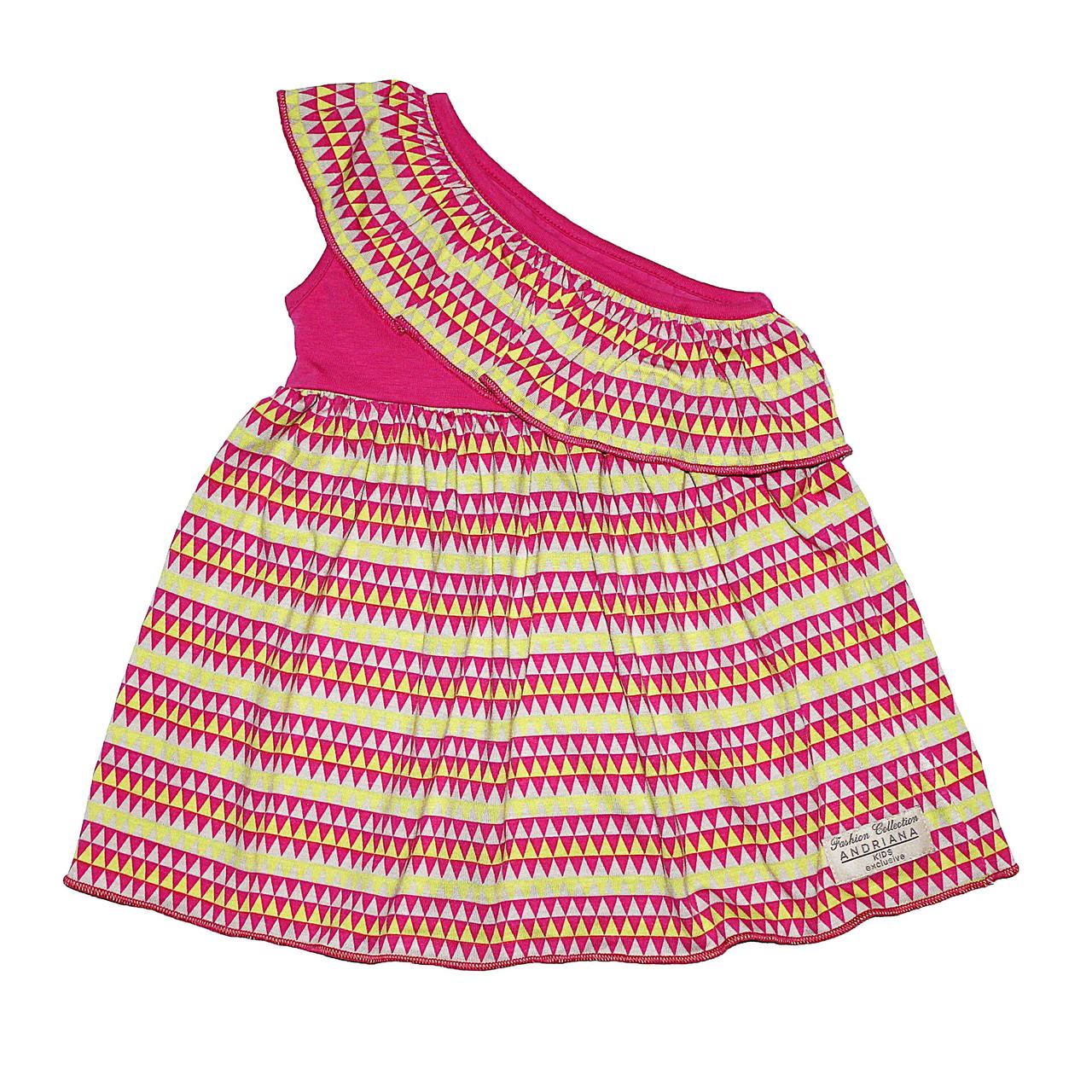 Платье на одно плечо Andriana Kids 6,12 мес