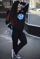 Женский стильный спортивный костюм в больших размерах tez1015721, фото 1