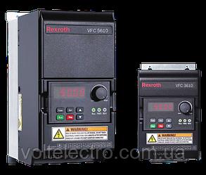 Преобразователь частоты VFC 5610 Bosch Rexroth  0.40 kW, 3 AC 380 - 480 V, 50/60 Hz, 1.3 A