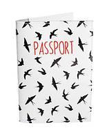 """Обложка на паспорт """"Ласточки"""""""
