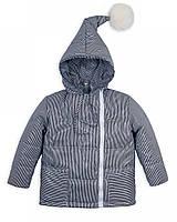 """Детская куртка """"Гномик"""" полоска весна-осень 1-2, 2-3, 3-4, 4-5 лет"""