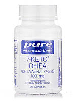 7-KETO DHEA (DHEA-Acetate-7-One) 100 mg, 120 Capsules