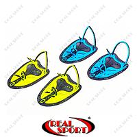 Лопатки для плавания TP-200 (пластик, резина, р-р M-L, цвета в ассорт.)