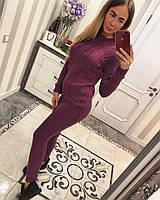Спортивный костюм женский машинная вязка, фото 1