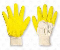 Перчатки желтое стекло