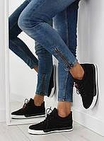 03-12 Черные женские кроссовки NB125P 39,38,37,36