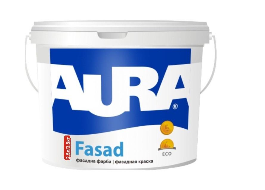 Краска акриловая AURA FASAD  фасадная 3,5кг