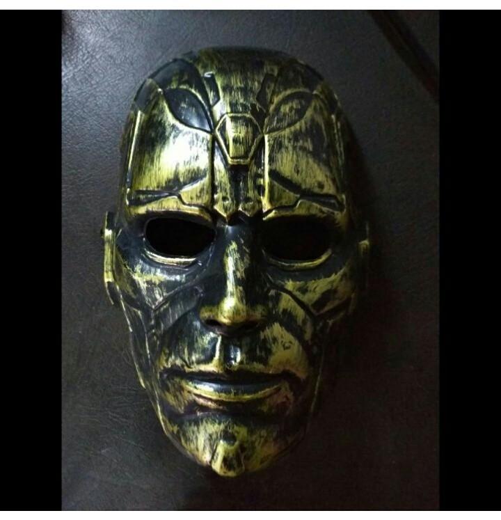 Маска Classic 2 Gold (пластик)