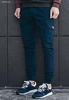 Мужские брюки Staff cargo blue modern