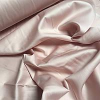 Cатин для постельного белья грязно-розовый цвет 240 см № ПС-0049