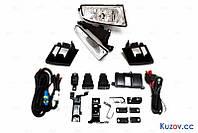 Противотуманные фары Honda Civic 4D 06-09 комплект правая+левая+монтажный комплект (DEPO)