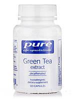 Green Tea Extract (decaffeinated), 120 Capsules