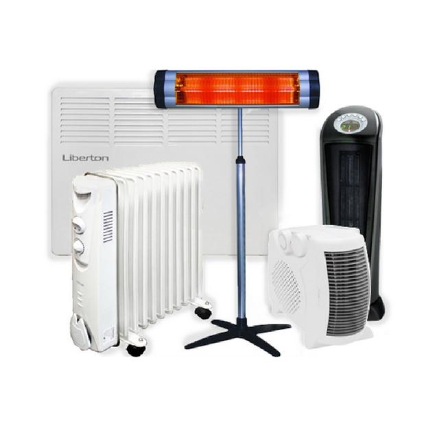 Тепловентиляторы и обогреватели электрические