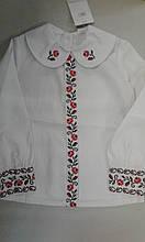 Вишиванка дівч. Україна 2330, 122 с.пол біла з червоним