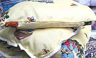 Детское одеяло с подушкой на силиконе