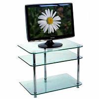 Подставка под ТВ стекло прозрачное 650x430x550 мм N80324301