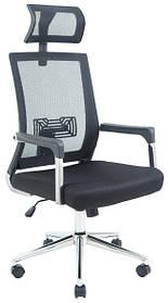Кресло Ибица хром сетка Черная (Richman ТМ)
