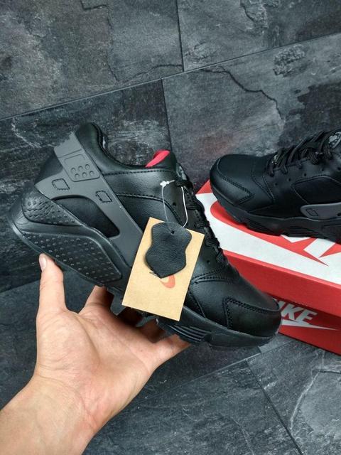 ... Чоловічі осінні кросівки Nike Huarache чорні (3304) 76bf87f54f666