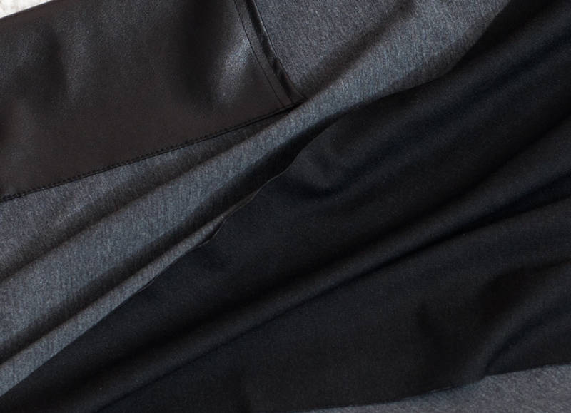 Кардиган c кожаными рукавами Mia   (код 082) , фото 3