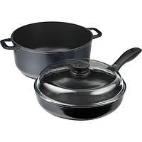 Набор посуды Биол Индиго 3 предмета N52212839