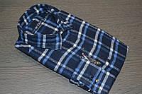 Шерстяная приталенная рубашка BAZZOLO (размеры M.L.XL.XXL)