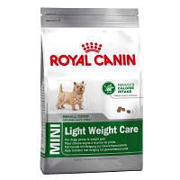 Корм для собак Royal Canin Mini Light Weight Care (Роял Канин Мини Лайт Вейт при лишнем весе) 800 г