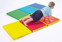 Мат складной детский 150-50-5 см с 3-х частей ТМ Тia-sport Тиа-Спорт: sm-0018 (Украина)