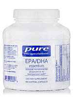 EPA/DHA Основные, EPA/DHA Essential, Pure Encapsulations, 180 Капсул, фото 1