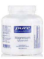 Магний (глицинат), Magnesium (Glycinate), Pure Encapsulations, 180 капсул, фото 1