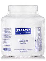 Кальцій (MCHA), Calcium (MCHA), Pure Encapsulations, 180 капсул, фото 1