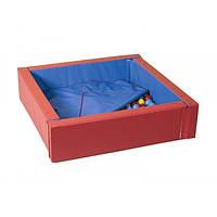 Сухой бассейн с матом 114-114 см ТМ Тia-sport Тиа-Спорт: sm-0087 (Украина)