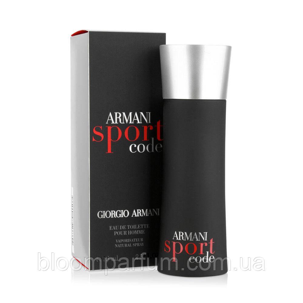Armani Pour 100mlкопия Code Edt Sport Homme TFJclK1