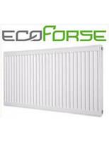 Радиатор стальной ECOFORSE 500*1300 Тип 22 (глубина 100 мм)