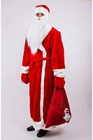 Костюм карнавальный Деда Мороза взрослый, размер 52-54 (Украина) купить оптом в Одессе на 7 км