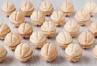 Вкусный рецепт теста для приготовления десерта в орешнице