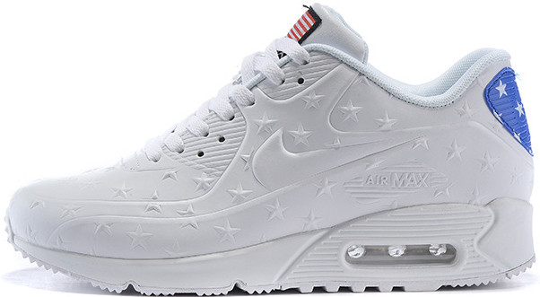 18175536 Мужские кроссовки Nike Air Max 90 VT Leather White - Интернет-магазин обуви  и одежды