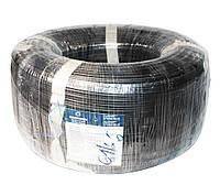 Кабель FTP, Cu (медь), для внешней прокладки с тросом, 2x2x0,51 мм, 'Одескабель', бухта 305 м