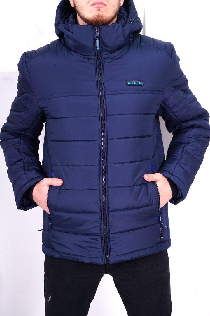 Мужская зимняя куртка с капюшоном Columbia