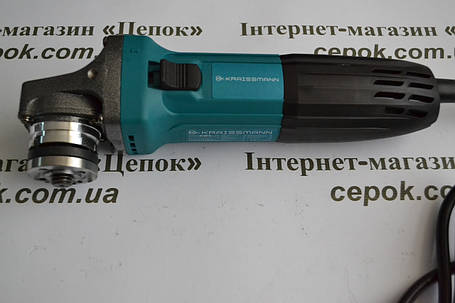 Болгарка KRAISSMANN 1000 - KWS - 125, фото 2