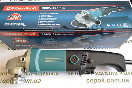 Кутова шліфмашина Rober-Profi WS125LWS, фото 2
