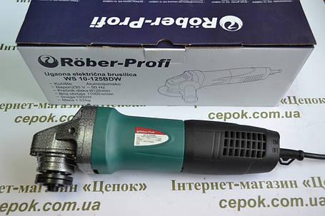Кутова шліфувальна машинка Rоber-profi WS 10-125 BDW, фото 2