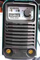 Зварювальний інвертор MAINZ MMA295C, фото 3